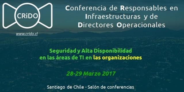 Conférence Crido à Santiago du Chili le 28 Mars 2017