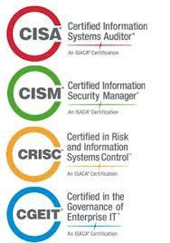 Certification CISA CRISC CISM CGEIT ISACA: promotion examen décembre 2013
